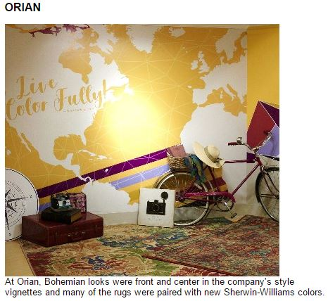 In the Media | Orian Rugs